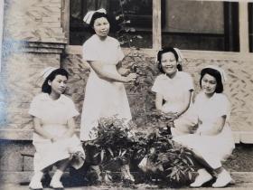 民国美女护士照片