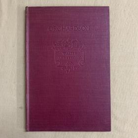 《威廉·奎勒·奥查森画集》The Art of William Quiller Orchardson ,1895年初版,漆布面精装本,内含大量精美插图
