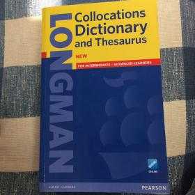 Longman Collocation Dictionary and Thesaus 朗文英语搭配词典
