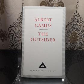 【近期不能发货,别付款,可联系确定发货时间】The Outsider 局外人 Albert Camus 加缪 everyman's library 人人文库 英文原版 布面封皮琐线装订 丝带标记 内页无酸纸可以保存几百年不泛黄