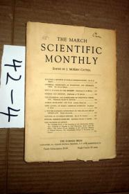 SCIENTIFIC MONTHLY 科学月刊1928年3月  多图片