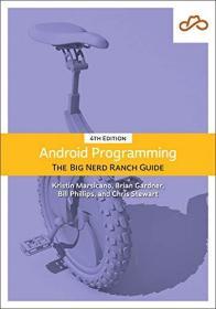 预订  Android Programming: The Big Nerd Ranch Guide 4e  Android编程权威指南