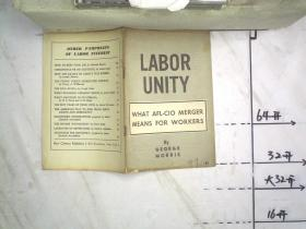 LABOR UNITY WHAT AFL-CIO MERGER MEANS FOR WORKERS