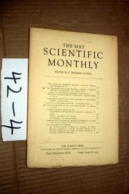 SCIENTIFIC MONTHLY 科学月刊1934年5月  多图片