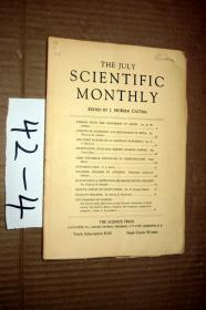 SCIENTIFIC MONTHLY 科学月刊1929年7月  多图片