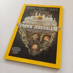 《NATIONAL GEOGRAPHIC》国家地理杂志 期刊 2019年12月 英文版 UNDER JERUSALEM·DISPOSABIE PLASTICS·CAPTIVE