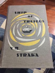 英文原版忒修斯之船 手稿附件式奇特图书 Ship of Theseus