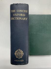 英文原版The concise Oxford Dictionary of current English fourth edition 牛津简明英语词典 第四版(第4版)
