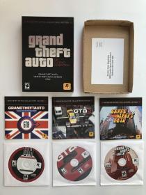 侠盗飞车 GTA1 GTA2 PC电脑游戏 正版游戏 侠盗列车手 罕见 游戏光盘