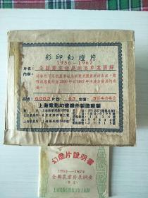 幻灯片(1956-1967)全国农业发展纲要草案图解