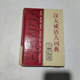 汉大成语大词典(精编本)