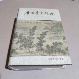 唐诗鉴赏辞典 /萧涤非 上海辞书出版社