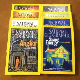 NATIONAL GEOGRAPHIC 2009 美国国家地理(英文版 10本合售)