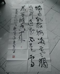 王勇平,中国书协理事八平尺