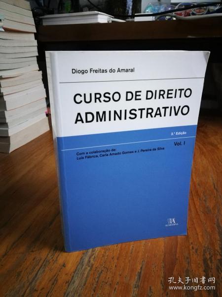 CURSO DIREITO ADMINISTRATIVO VOL.I ;Curso De Direito Administrativo - Volume 2 (Em Portuguese do Brasil)(巴西葡萄牙原版)