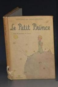 Antoine De Saint-Exupery :Le Petit Prince 圣埃克苏佩里《小王子》精装全插图本 珍贵早期版本