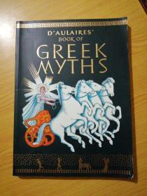 DAulaires Book of Greek Myths 英文原版