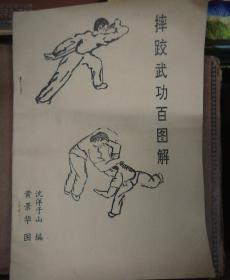 摔跤武功百图解