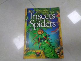 Readers Digest Pathfinders :Insects and Spiders (少儿 自然科学类 8开 铜板彩印)尺寸33.5cm×24.5cm