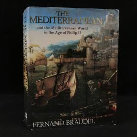 1972年,费尔南·布罗代尔《菲利普二世时期的地中海和地中海地区(节选)》,306幅插图,部分为彩色,厚本精装,The Mediterranean and the Mediterranean Worl