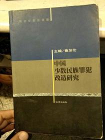 【一版一印】中国少数民族罪犯改造研究  鲁加伦  主编   法律出版社9787503633348
