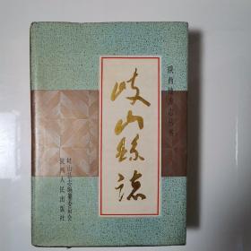岐山县志(全一册精装本)〈1992年陕西初版发行〉