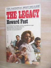 英文书  THE  LEGACY  Howard  Fast(32开,共443页)