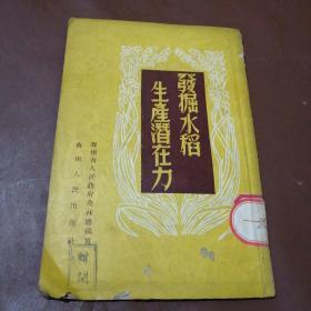 发掘水稻生产潜在力