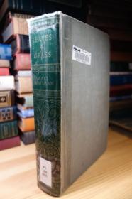 1931年版 惠特曼的草叶集 Leaves of grass 精装毛边 厚本 1.34公斤