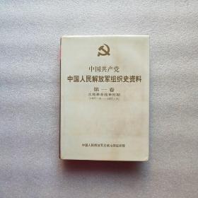 中国共产党组织史资料(第一卷)土地革命战争时期1927.8-1937.8