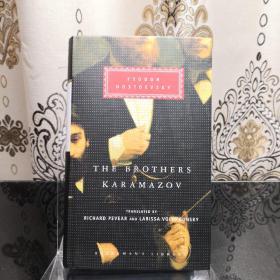 The brothers karamazov 卡拉马佐夫兄弟 Fyodor M. Dostoevsky 陀思妥耶夫斯基 everyman's library 人人文库 英文原版 布面封皮琐线装订 丝带标记 内页无酸纸可以保存几百年不泛黄