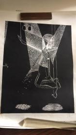 李蓓版画【49厘米X38厘米】....56