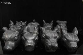 陨石,十二生肖兽头
