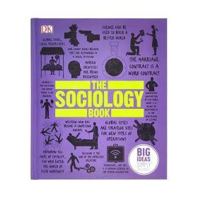 现货 英文原版 DK百科丛书 The Sociology Book 社会学百科全书 图解艺术百科 图文解读经典艺术作品 DK百科全书