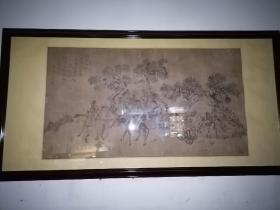 清代人物画山水画