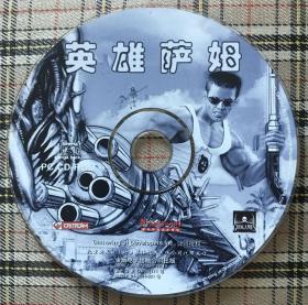 电脑游戏:英雄萨姆、英雄萨姆2合售(2CD-ROM)私藏无盒
