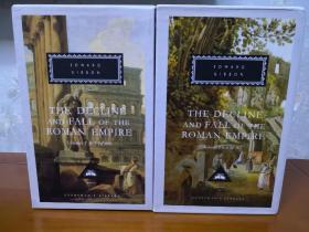 The Decline and Fall of the Roman Empire (6 volumes )罗马帝国衰亡史(全6册)Edward Gibbon 爱德华·吉本 everyman's library 人人文库 英文原版 布面封皮琐线装订 丝带标记 无酸纸可以保存几百年不泛黄