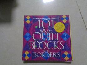 BETTER HOMES AND GARDENS 101 FULL-SIZE QUILT BLOCKS AND BORDERS