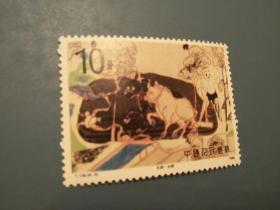 散票:T126 -3敦煌壁画邮票一枚