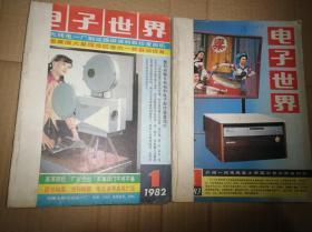 电子世界1983年全年合售