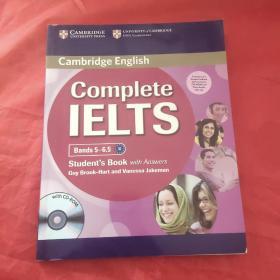 Complete IELTS Bands 5-6.5 【含光盘3张 】
