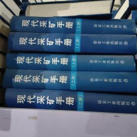 现代采矿手册(上册)