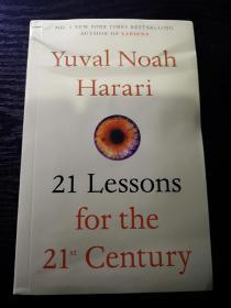 21 Lessons for the 21st Century,今日简史英文版,瑕疵如图,无笔记无划线,包邮。