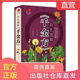 彩色图解千金方正版全集家庭实用医药偏方中国古代中医学经典著作