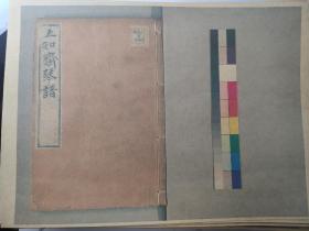 《五知斋琴谱》,共440张,原书现藏日本帝国图书馆,日本朋友高清拍照打印,中国琴曲集。清周鲁封根据徐祺传谱编印于康熙六十年(1721年)。共八卷。所收三十三曲多注明出处,指法细致详尽,在旁注中有作者加工之处及评语。后记也较有特点,从中可了解作者对作品的独到了解。此谱为广陵派重要琴谱。广陵派后期刊印的《自远堂琴谱》、《蕉庵琴谱》、《枯木禅琴谱》等,大多取材于此。
