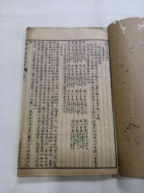 《增删算法统宗》存1册,卷六至卷十一,附加卷未