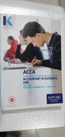 正版二手  ACCA   KAPLAN PUBLISHINT UK ACCCOUNTANT IN BUSINESS (AB) STUDY TEXT 1 SEPTEMBER 2019-31 AUGUST 2020  9781787403888