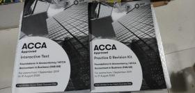 正版二手 Foundations in accountancy/ ACCA   Accountant in Business (FAB/AB)  Interactive Text   For exams  from 1 September 2019 to 31 August 2020  9781509724154