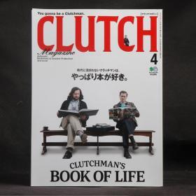 日文原版雜志現貨 美式復古志 CLUTCH 2018年4月 CLUTCHMAN'S BOOK OF LIFE