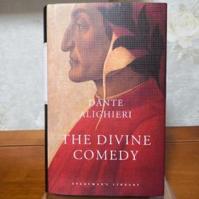 The Divine Comedy: Inferno; Purgatorio; Paradiso 神曲:地狱、炼狱、天堂 Dante Alighieri 但丁·阿利吉耶里 everyman's library 人人文库 英文原版 布面封皮琐线装订 丝带标记 内页无酸纸可以保存几百年不泛黄
